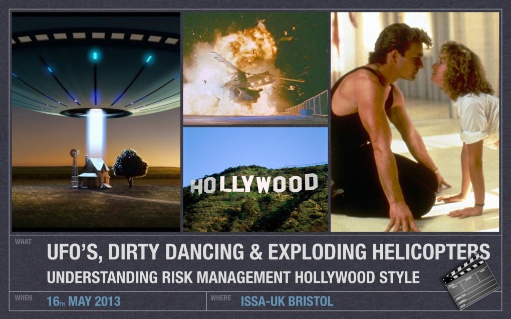 UFO', Dirty Dancing & Exploding Helicopters