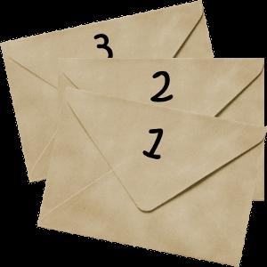 three-envelopes